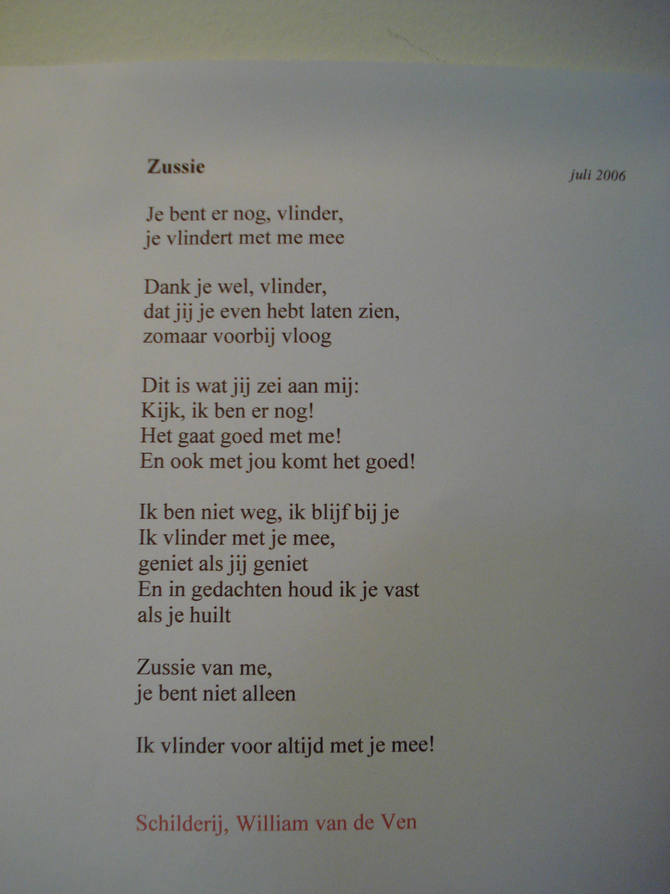 gedichten over verlies