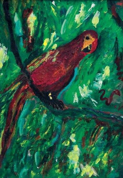 Schilderij gemaakt door William van de Ven