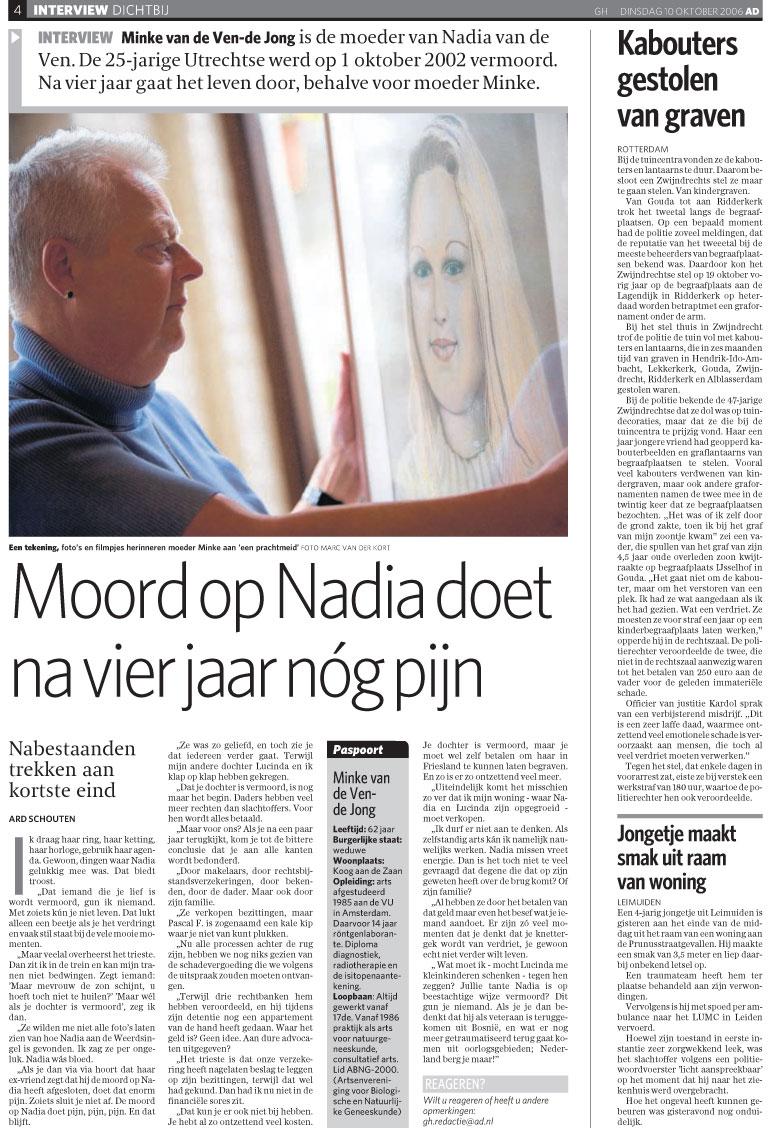 Interview AD Minke van de Ven